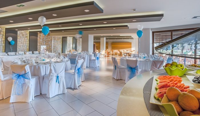 BLV Wedding Reception at the private Mythos Restaurant